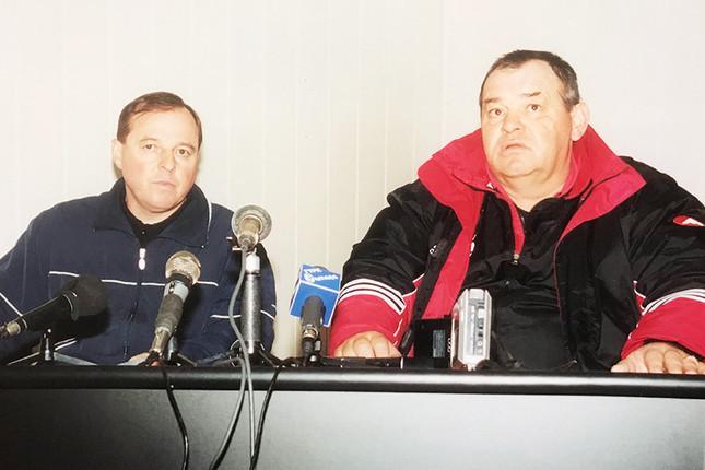 Александр Тарханов и Валерий Овчинников