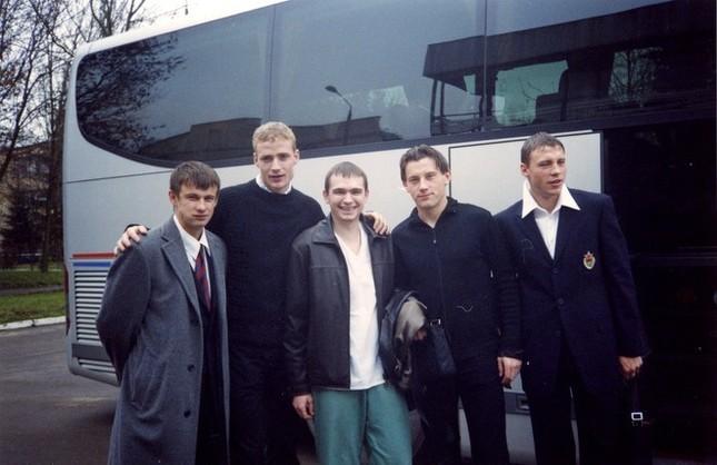 С Семаком, Ярошиком, Оличем и Поповым