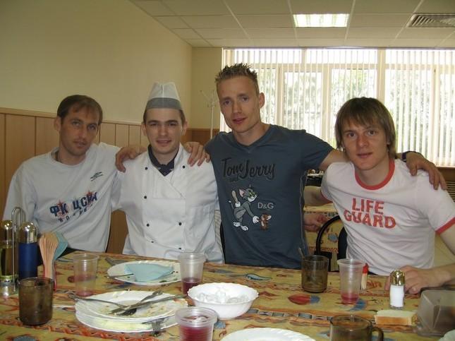 С Рахимичем, Ярошиком и Красичем