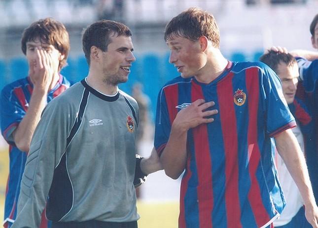 Вениамин Мандрыкин и Алексей Березуцкий