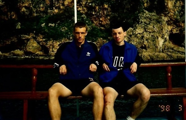 Виктор Ганчаренко и Дмитрий Капельян