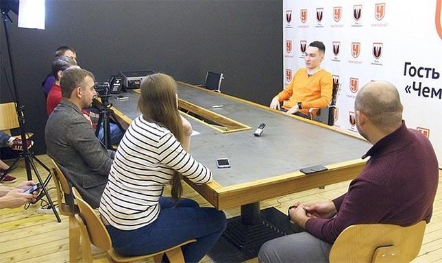Вячеслав Караваев в гостях у «Чемпионата»