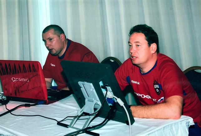 Александр Горячев и Леонид Слуцкий