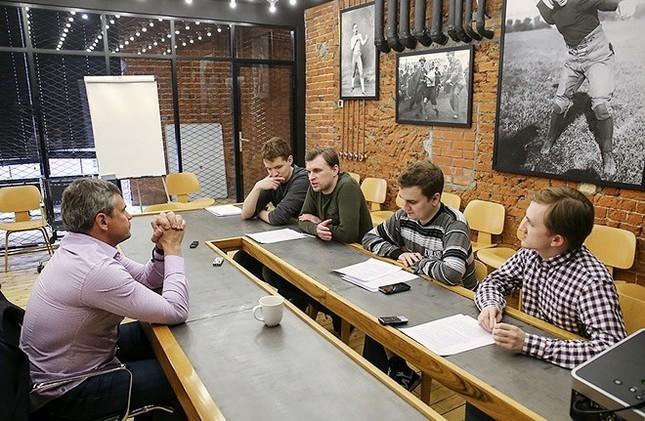 Дмитрий Квартальнов в гостях у «Чемпионата»