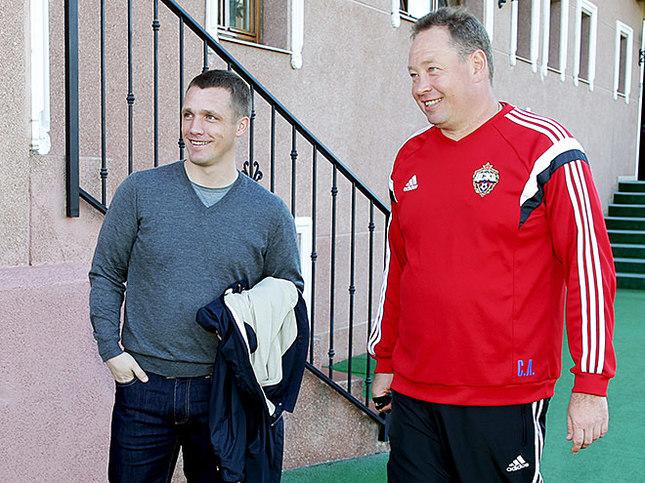 Виктор Ганчаренко и Леонид Слуцкий