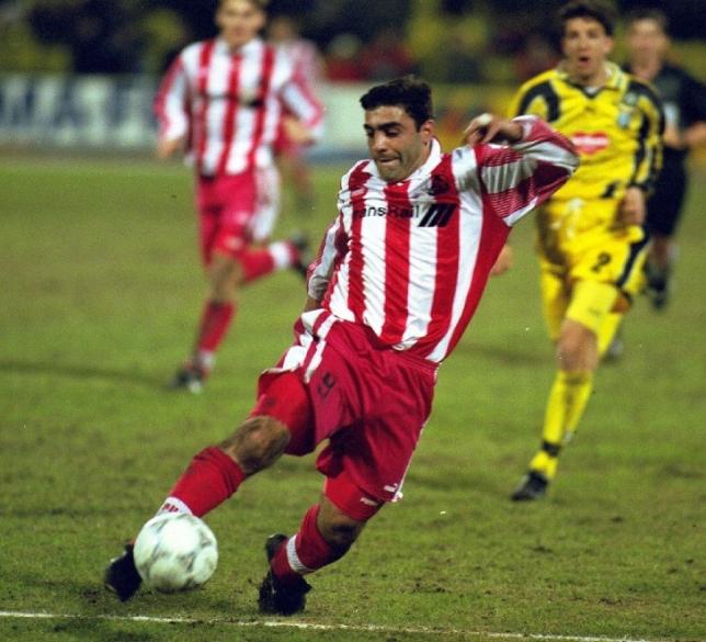 Заза Джанашия – один из самых ярких игроков «Локомотива» 1990‑х годов. Фото Эдуарда Смирнова