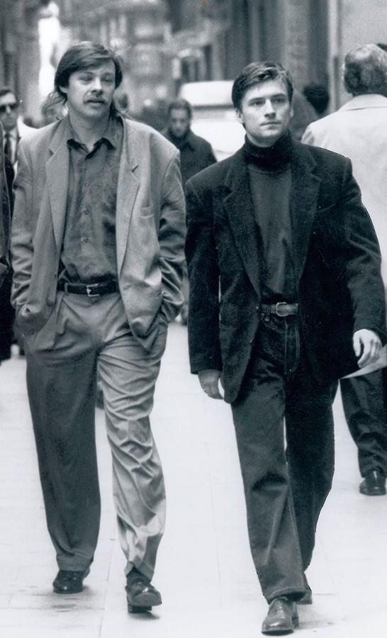 Дмитрий Галямин и Игорь Корнеев