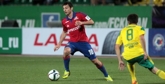 Алан Дзагоев. Фото facebook.com