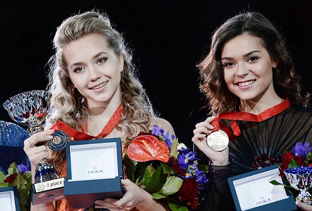 Елена Радионова (слева) и Аделина Сотникова
