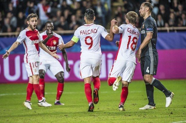Фалькао забил в ворота ЦСКА. Фото: УЕФА