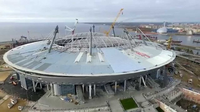 Зенит-Арена. Фото: youtube.com