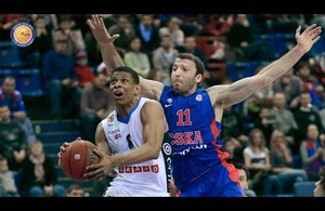 CSKA vs. Kalev Highlights 05.01.2015